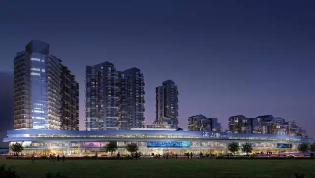 溪山里购物中心:大黔中城市级商业中心